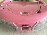 Bush pink CD MP3 player