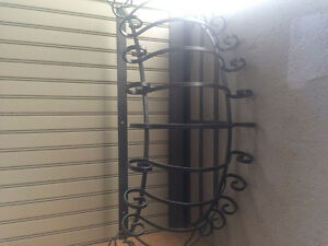 Wrought iron planter