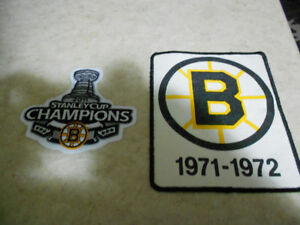 Boston Bruins Patches