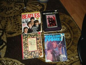 The Beatles- Rolling Stones Old books and magazines