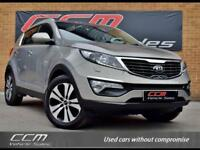 KIA Sportage 2.0 CRDi KX-3 AWD 5DR 2013 + PANORAMIC ROOF + ONE OWNER +
