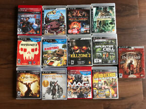 Selling PS3, games and controller.