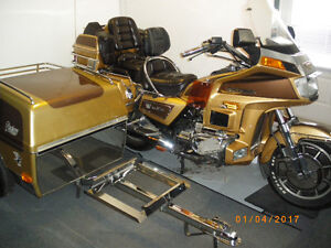 TRAILER DENRAY ET MOTO HONDA GOLDWING 1985 LIMITED EDITION !