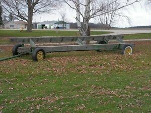 combine header carts