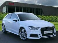 2017 Audi A3 S line 1.6 TDI 116 PS 6-speed Hatchback Diesel Manual