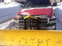 Fisher snow plow