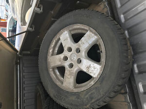 Winter Tires and Rims for Dodge Caravan