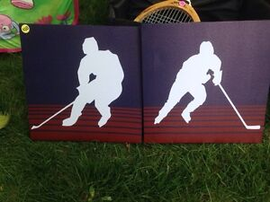 Two Hockey Pictures