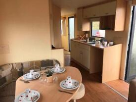 Gorgeous 8 berth static holiday home on the Ayrshire coast at Sandylands