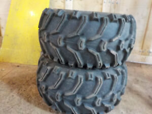 2-like new bear claw 25x12.5x9 rear tires with rims