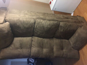 Free brown couch like new