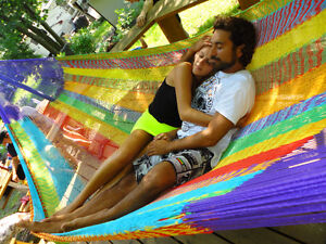 HAMACS MEXICAINS & CHAISES-HAMAC / MEXICAN HAMMOCKS and CHAIRS