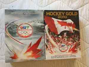 OLYMPIC GOLD MEDAL CANADA HOCKEY GAME DVDS