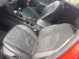 Full leather front and rear seats 2011-2018 ford focus