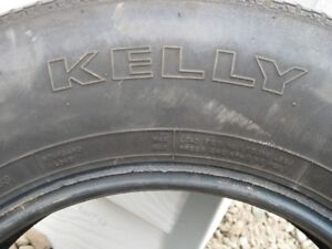 FOR SALE ONE KELLY TIRE P 205/75 R 15RV TRAILER TIRE