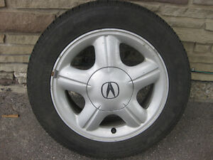 Acura Alloy Rims and Tires