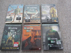 Breaking Bad on DVD - Complete Series - Still Sealed