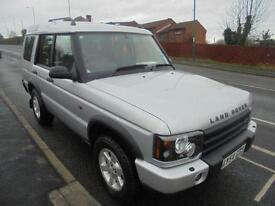 2004 54 LAND ROVER DISCOVERY 2.5 PURSUIT S TD5 5D AUTO 136 BHP DIESEL