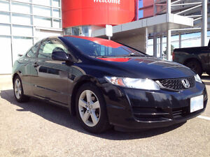 2009 Honda Civic LX Coupe (2 door) with factory SI spoiler