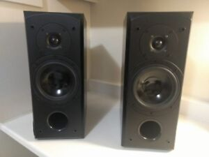 Quest Stereo Speakers Q610- 18 ht, 14 deep, 7.5 wide