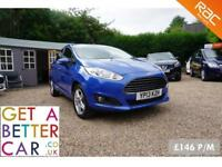 FORD FIESTA 1.5 ZETEC TDCI - 13 REG - 39K - £146 PM - NO DEPOSIT FINANCE