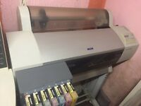 Epson Stylus Pro 7600 large format printer with CISS