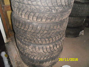 225/45r17 studded winter tires for subaru wrx 5X100 bolt patter