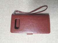 Mobile case/cover with credit card holder