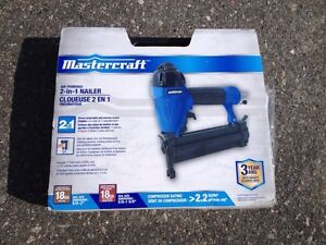 2 in 1 Air Nailer for sale