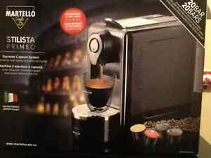 Brand new Martello Cafe Expresso Capsule System!