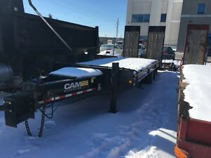 2012 Cam Superline Equipment Float w/Paving Ramps