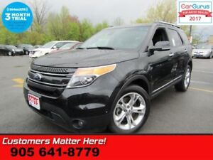 2015 Ford Explorer Limited  4X4, NAV, TECH-PKG, BLINDSPOT, LANE