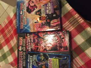 Two Monster High DVD's