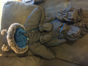 Osh kosh one piece snow suit 18 months