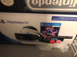 PSVR Like new, 5 games, 2 wands, camera