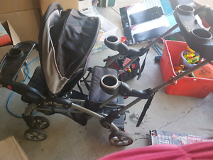 Baby trend sit stand double stroller