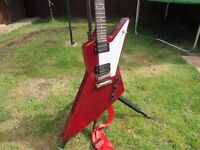 Gibson Explorer Cherry Red - As New