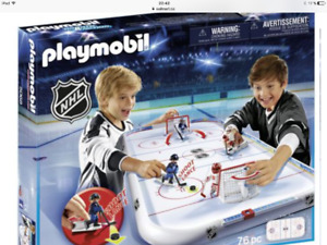Jeu d'hockey playmobile