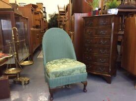 Vintage Lloyd Loom chair. Retro antique bench Armchair