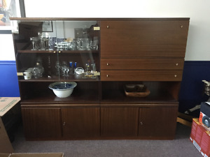 Solid Rosewood Wall Unit