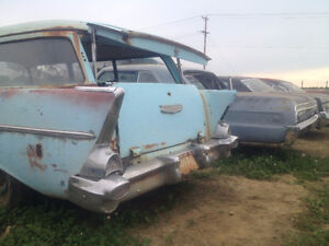 1957 chev 2 door wagon... all original never restored