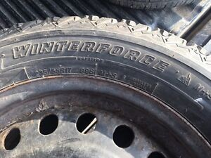 4-WINTERFORCE SNOW TIRES, P235/55R17
