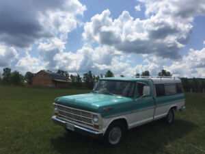 1968 FORD F100 - STRAIGHT 6 - NO RUST BC TRUCK