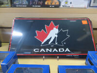 NEW Team Canada Licence Plates In Stock