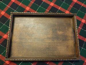 Vintage Handmade Pre-War (1930's) Wood Trays - Set of 3 Kitchener / Waterloo Kitchener Area image 7