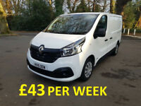 £191.56 PER MONTH 2015 RENAULT TRAFIC 1.6dCi L/R SL29 115 BUSINESS+ WITH NAV