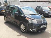 2009 CITROEN C 3 PICASSO VTR PLUS HDI 5 DOOR IN BLACK DIESEL