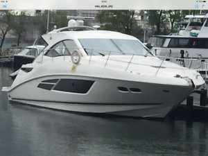 Sea Ray 510 Sundancer 2014 (2 Cummins QSC 550 Diesel  290hres)