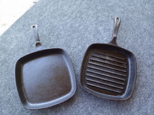 Wagner CAST IRON SQUARE PANS