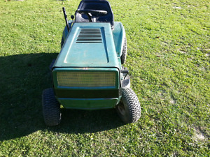 Unwanted lawn tractors